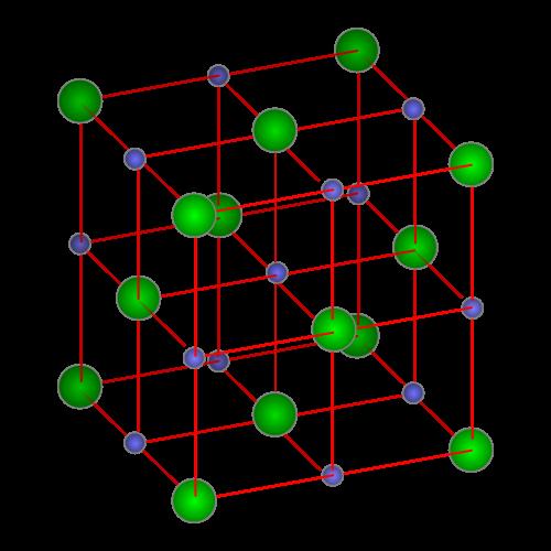 La Cristalización De Minerales Alumbre De Potasio