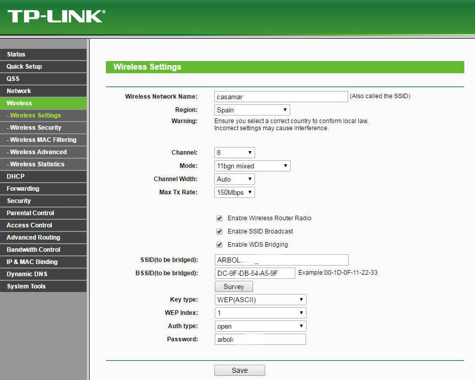tp link como repetidor