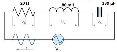 Problema circuito rlc