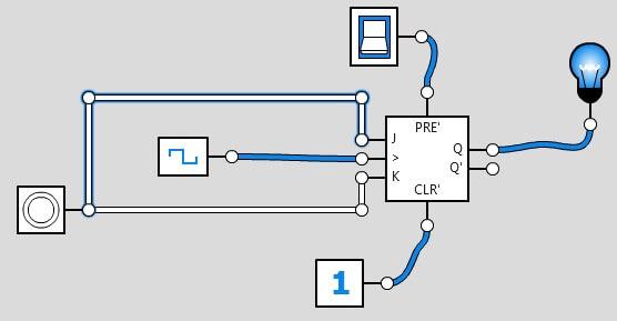 pulsadores con jk-logic-ly