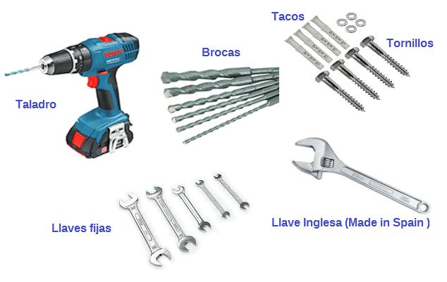 herramientas taladro