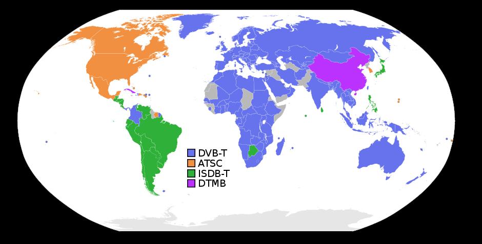 sistemas digitales en el mundo
